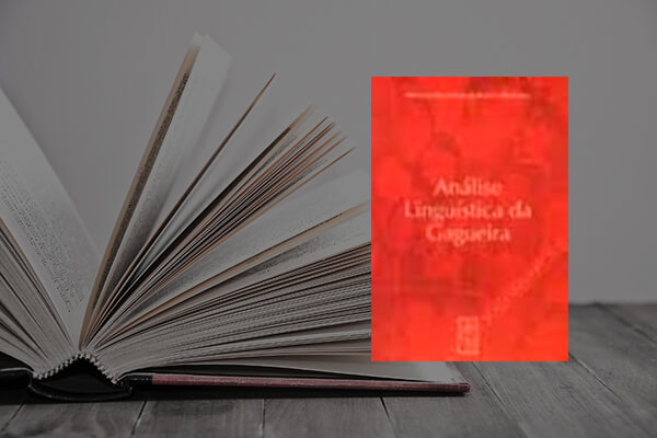 Capa do livro Análise Lingüística da Gagueira