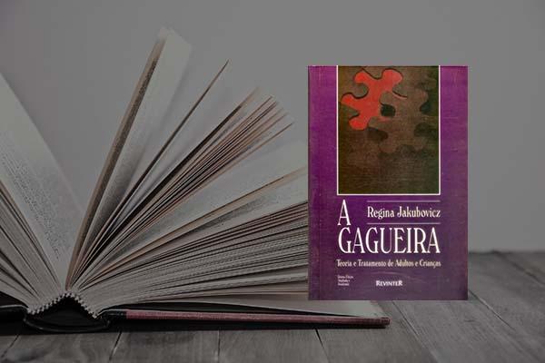 Capa do livro A Gagueira: teoria e tratamento de adultos e crianças