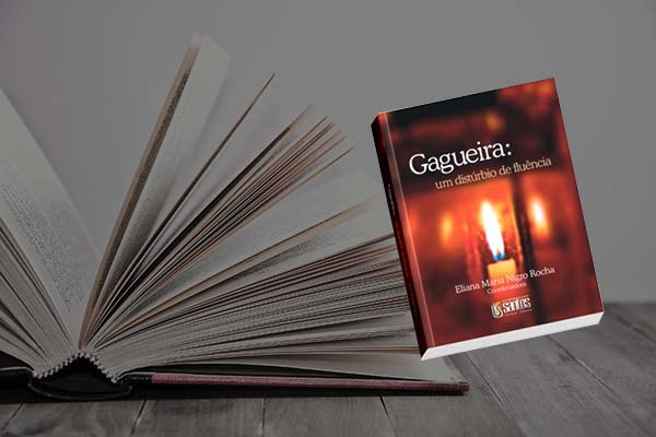 Capa do livro Gagueira: Um Distúrbio de Fluência