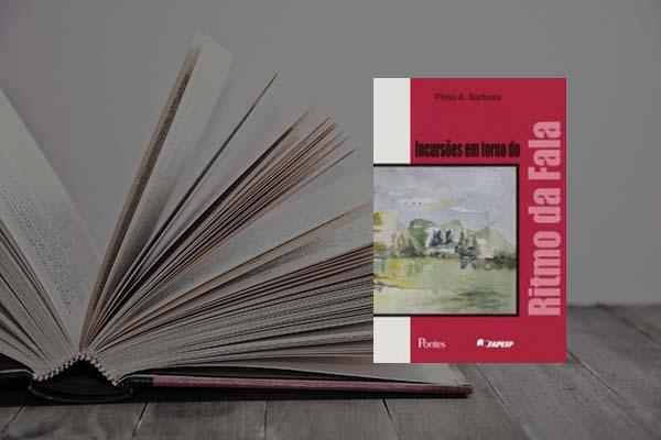 Capa do livro Incursões em torno do ritmo da fala
