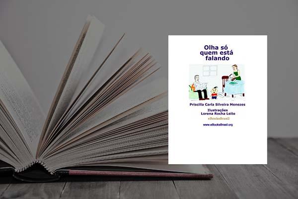Capa do livro Olha quem está falando