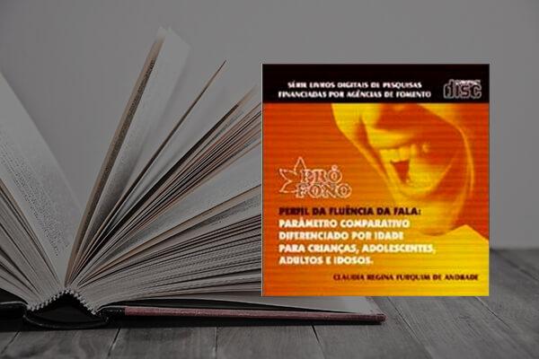 Capa do livro Perfil da Fluência da Fala