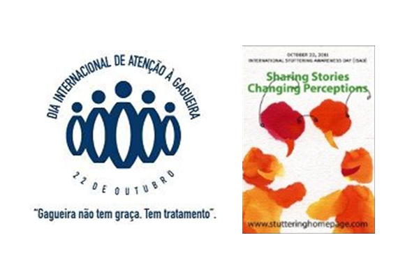 Logo DIAG 2011 e livro Gagueira: histórias que mobilizam