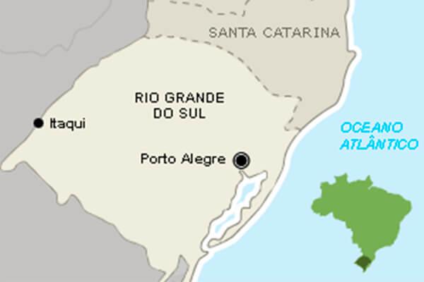 Mapa de Porto Alegre, RS