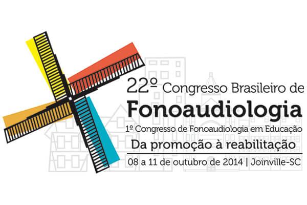 Logotipo 22º Congresso Brasileiro de Fonoaudiologia