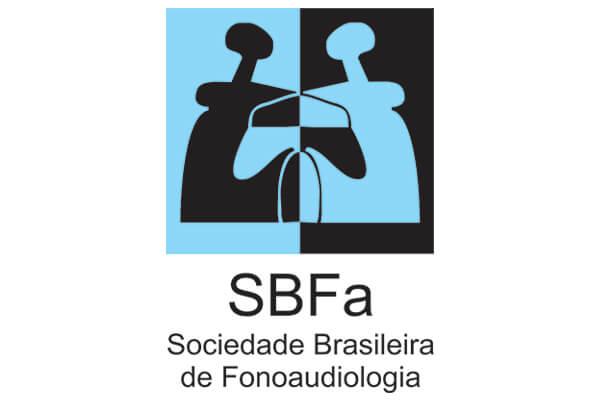 Logotipo SBFs Sociedade Brasileira de Fonoaudiologia