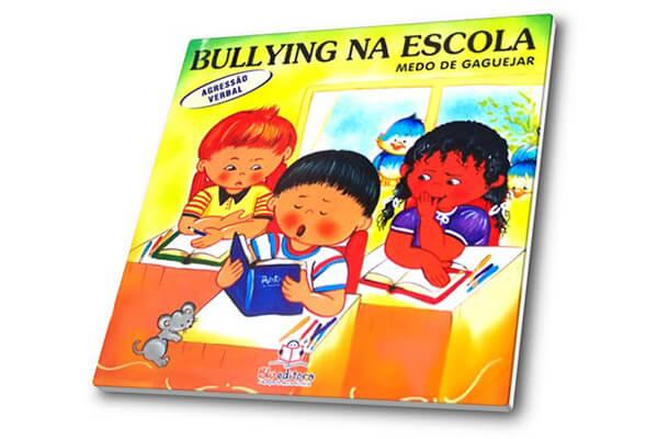 Capa do livro Bullying na escola - Medo de gaguejar