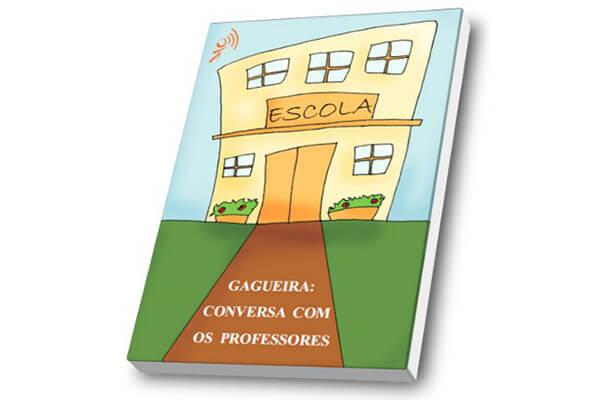 Capa do livro Gagueira: conversa com os professores